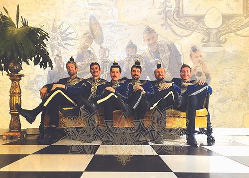 fanfare balkan de la region Bourgogne Imperial Kikiristan