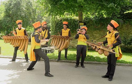 fanfare balafon de la region Rhone-Alpes la Complet Mandingue