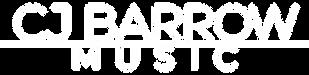 CJBarrowMusic Logo (white no bg).png