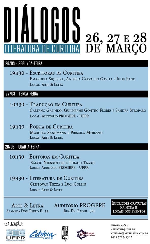 Diálogos Literatura de Curitiba