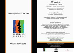 Expo IIª Coletiva Multiplus Olhares