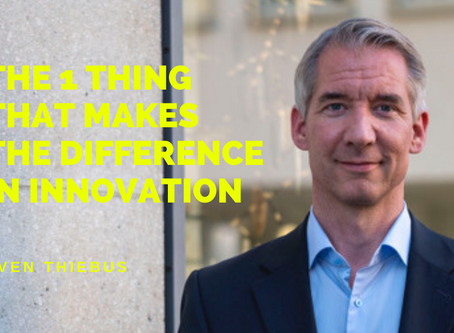 The 1 Thing That Makes The Difference in Innovation