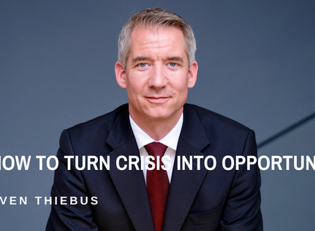 How to Turn Crisis into Opportunity