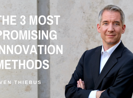 The 3 Most Promising Innovation Methods