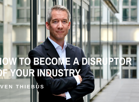 How to Become a Disruptor of Your Industry