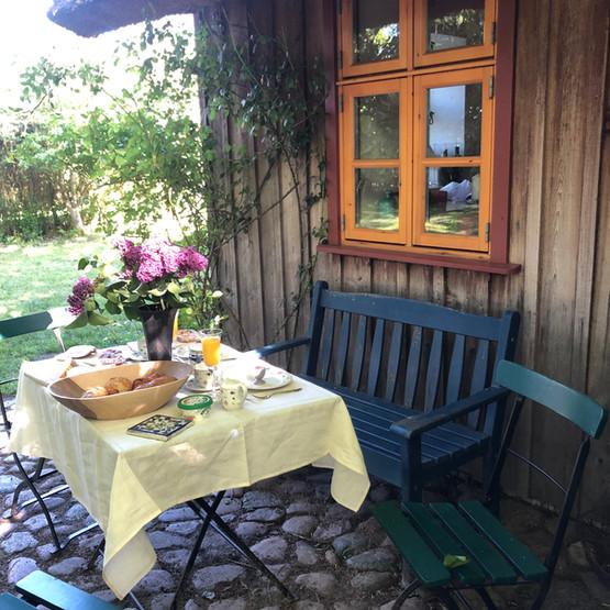 Ferienwohnung - Gartenidyll