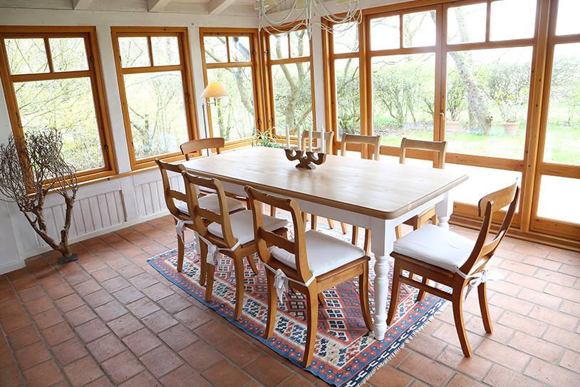 Ferienwohnung Fuchsbau - Gartenidyll