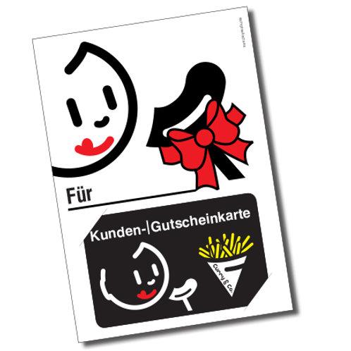 Kundenkarte Geschenkkarte