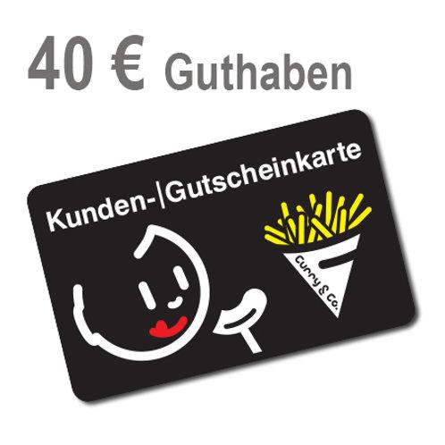 Kundenkarte 40 € Guthaben