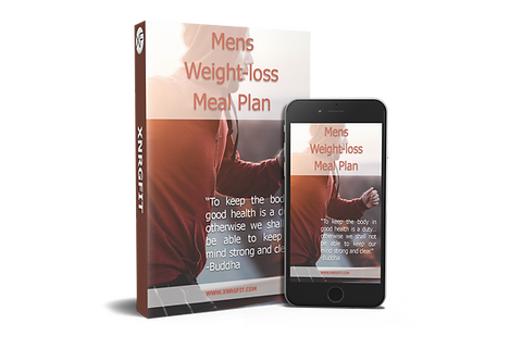 weight loss meal plan for guys