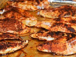 Blackened Chicken Breasts
