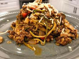 Zoodle Spaghetti Bolognese