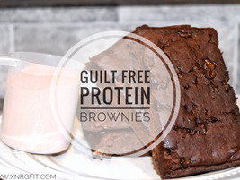 Guilt Free Protein Brownies