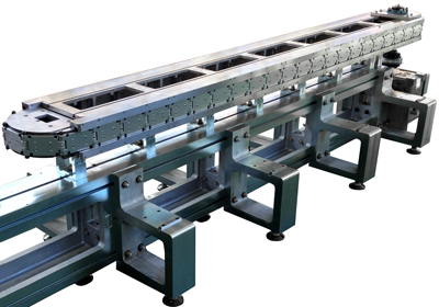 Agile Slim - precision link series chassis orientable in any attitude