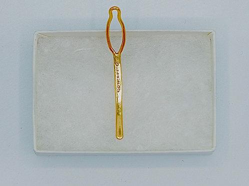 """Medium """"O"""" Locker™ Key (18k Golden Elite)"""