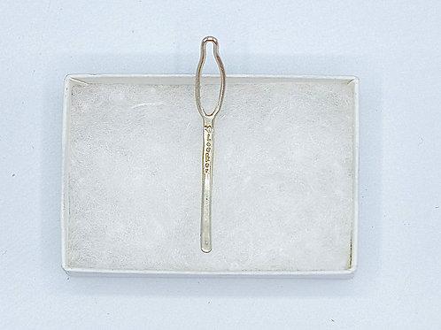 """Medium """"O"""" Locker™ Key ( Sterling Silver)"""