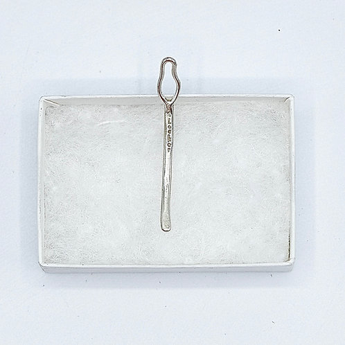 "Micro ""O"" Locker™ Key ( Sterling Silver)"