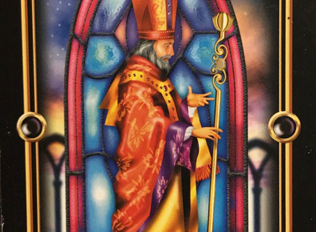 Card for today-The Hierophant