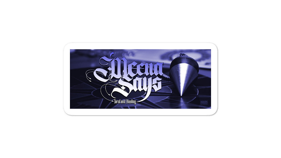 Meena Says  stickers