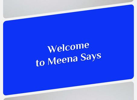 meenasays welcome!