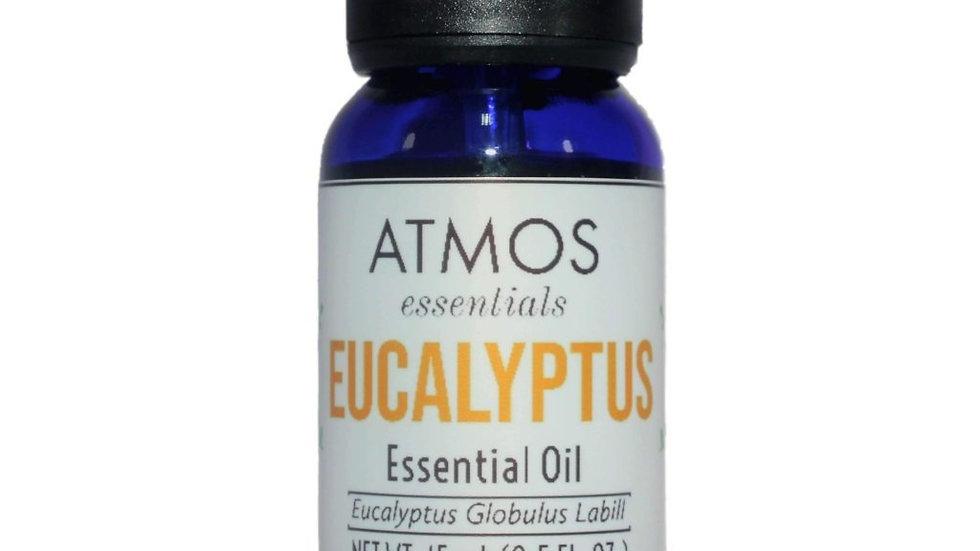 100% Pure Eucalyptus Essential Oil - Eucalyptus Globulus Labill 15mL