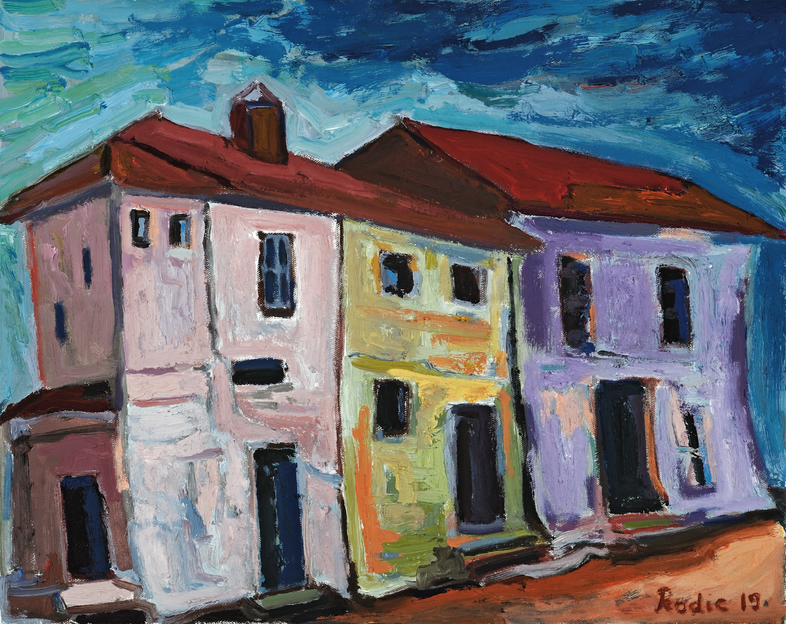 Houses Before the Storm