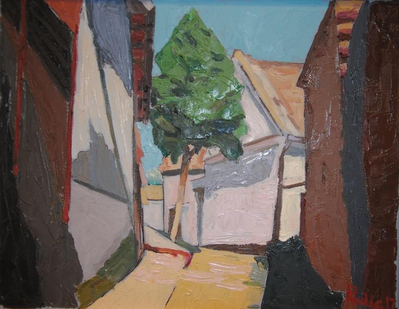 Old Street in Gardosh