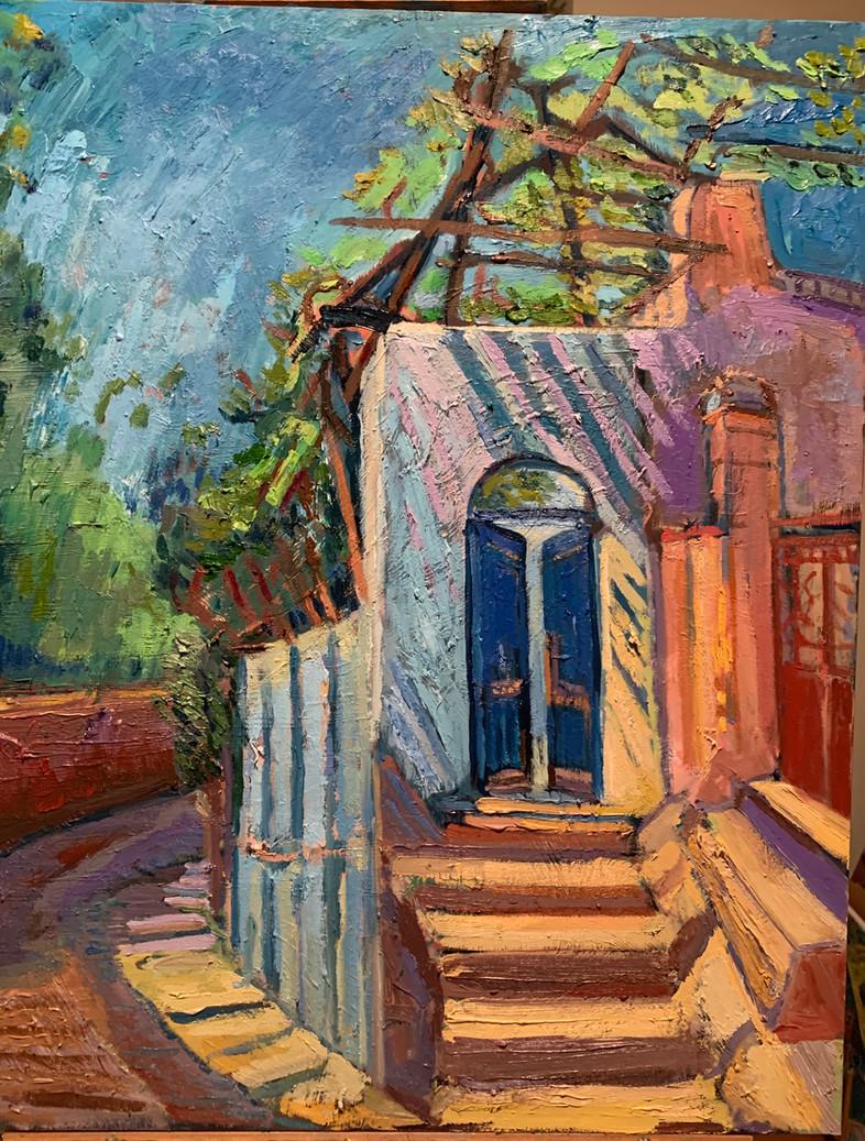 Blue Door - Capri