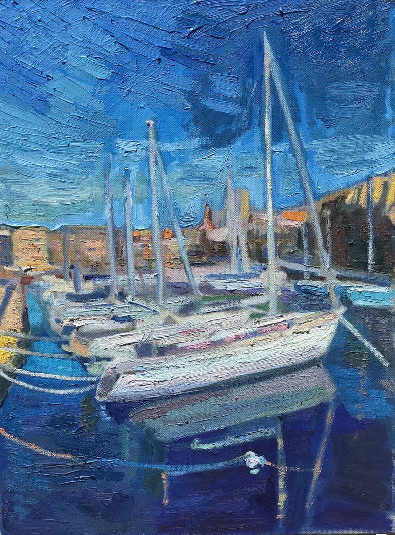 Boats in Malta