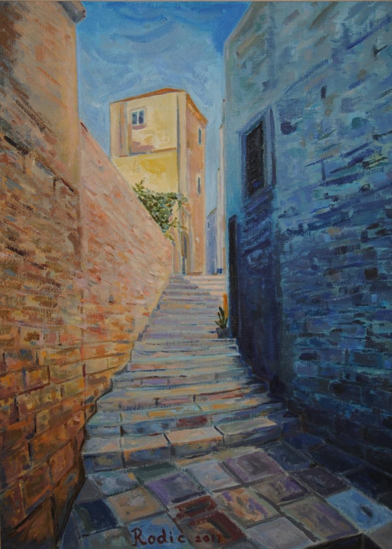 Stairs in Old Town: Ulcinj