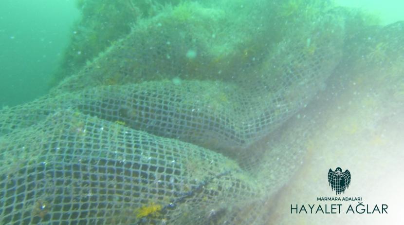 Her yıl 640 bin ton hayalet ağ denizlere terk ediliyor