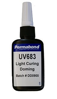 Permabond UV683 1 x 50ml bottle