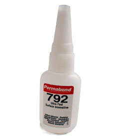 Permabond 792 (surface insensitive) 1 x 20g bottle