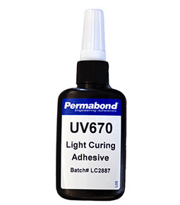 Permabond UV670 1 x 50ml bottle