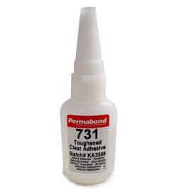 Permabond 731 (highly flexible) 1 x 20g bottle