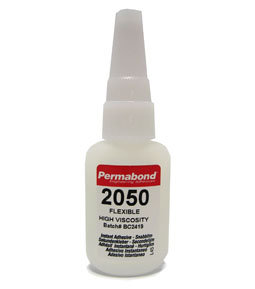 Permabond 2050 flexible cyanoacrylate adhesive 1 x 20g bottle