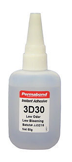 Permabond 3D30 1 x 50g bottle