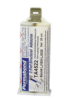 Permabond TA4522 1 x 50ml cartridge with mixing nozzle