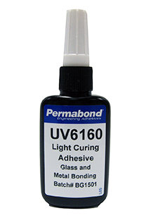 Permabond UV6160 1 x 50ml bottle