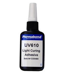 Permabond UV610 1 x 50ml bottle