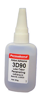Permabond 3D90 1 x 50g bottle