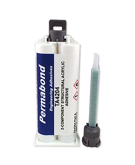 Permabond TA4204 1 x 50ml cartridge with mixing nozzle