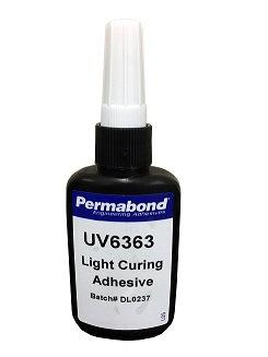 Permabond UV6363 1 x 50ml bottle