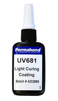 Permabond UV681 1 x 50ml bottle