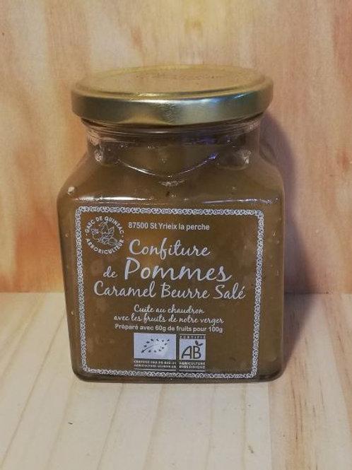 Confiture de pomme / caramel beurre-salé