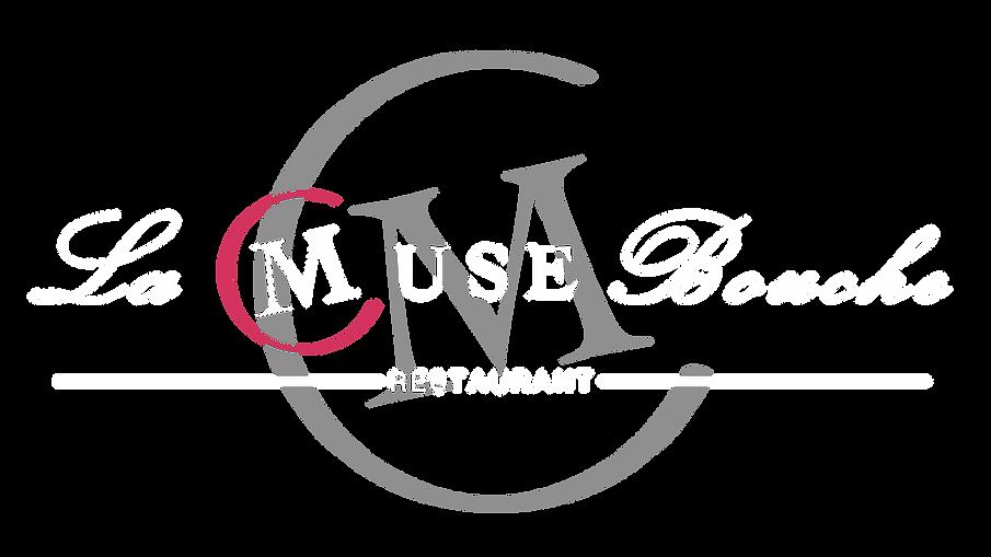 Logo Restaurant La Muse Bouche blanc