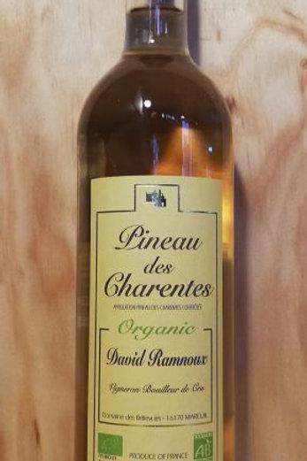 Pineau de Charentes Organic bio David Ramnoux