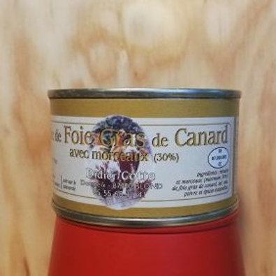 Le bloc de Foie-gras morceaux