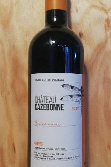 Grave Château Cazebonne rouge équilibré fruité