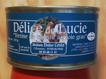 Terrine de canard au Foie-gras